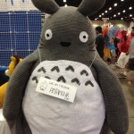 Isn't this the coolest Totoro you've seen? From Ami Amour.