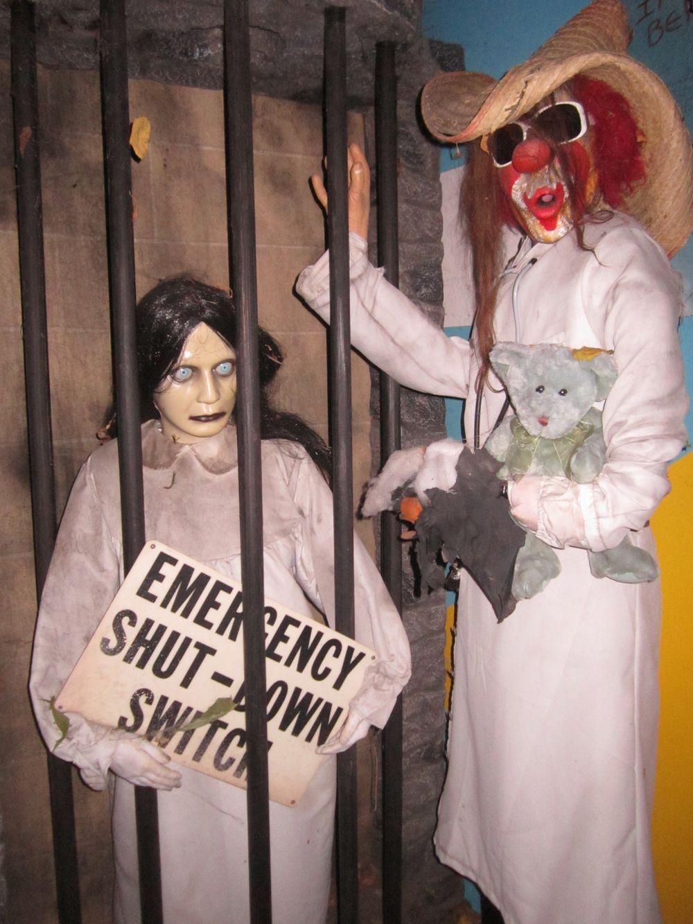 More creepy mannequins.